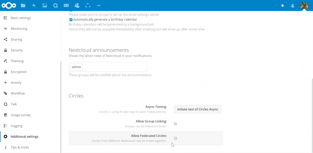 Nextcloud 13 Brings Improved UI, Video and Text Chat, End-to-end Encryption, Improved performance and more