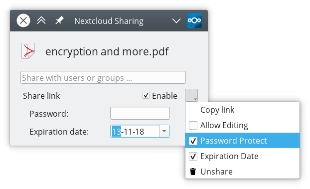 Nextcloud desktop client 2.5 is out with End-to-End Encryption, new login flow and much more