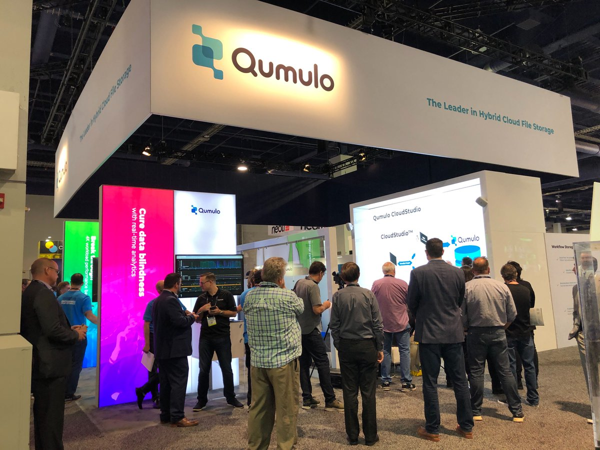 Check out #Qumulo's mid-afternoon @NAB Show Theater Session line up! Booth #SL 12111 1:20 Visual Creatures CloudStudio Demo 2:10 @p1Technologies Rendering in #AWS with Qumulo 3:15 @Atempo Takes the Pain Out of Data Migration From Legacy Storage to Qumulo