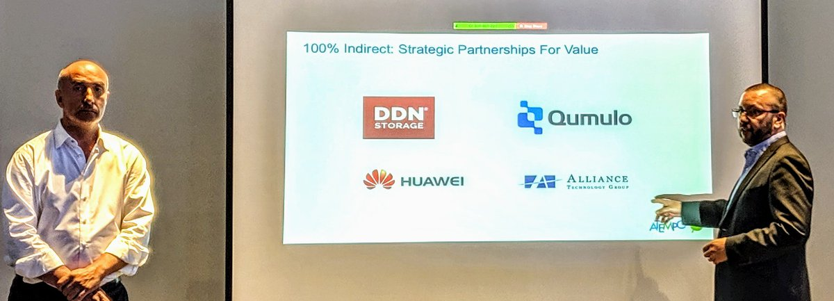 Strong partnerships w/ @DDN_limitless @Qumulo @Huawei to name a few to boost market adoption - also key recognition #DataManagement #DataProtection #Backup #Migration #Archive #NAS #AI #ML #DataFlow #Miria #TiNa #Cloud #HybridCloud #ITPTpic.twitter.com/Pd